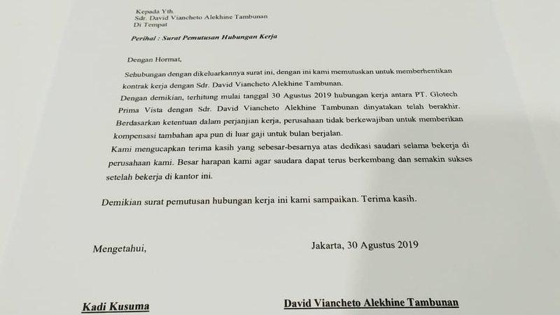 Petisi Penolakan Phk Sepihak Pemaksaan Surat Resign Karyawan Do It Change Org