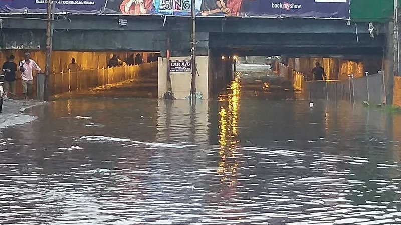 Khar Subway Map.Petition Update Khar Subway Under Water Today Need For A Flyover
