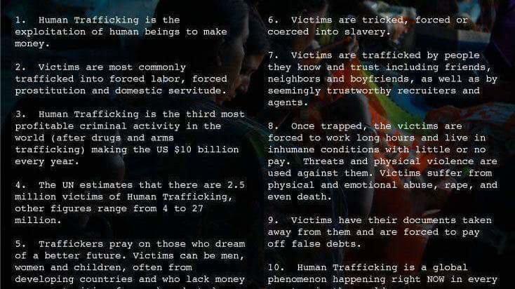 Petition · STOP HUMAN TRAFFICKING · Change org