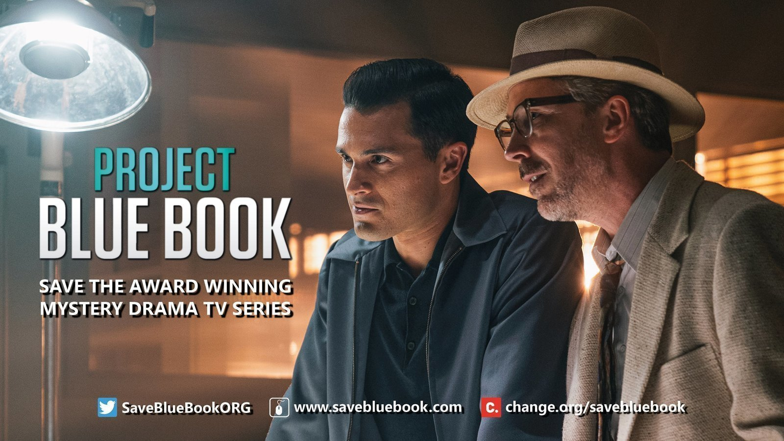 Petition · Save 'Project Blue Book' The TV Series (Proyecto Libro Azul) ·  Change.org