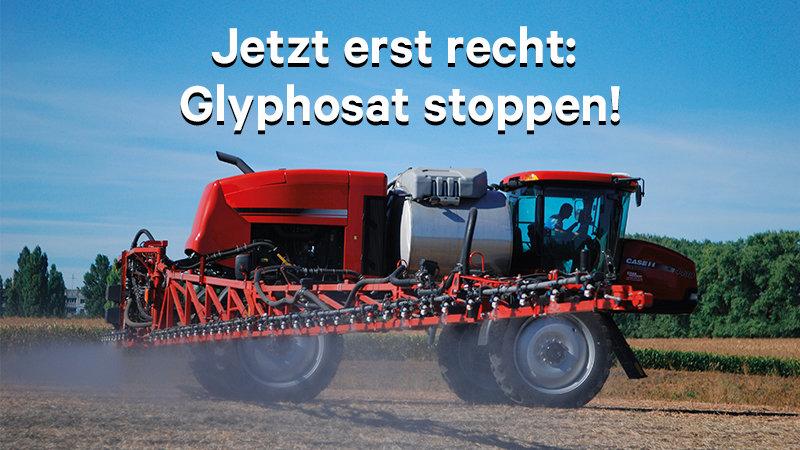 Glyphosat stoppen