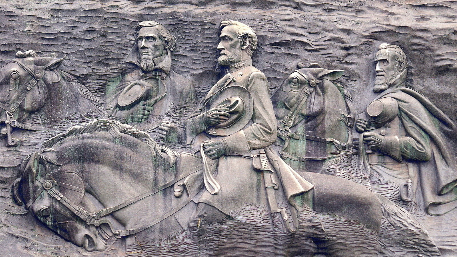 Petition · remake the confederate memorial carving on stone