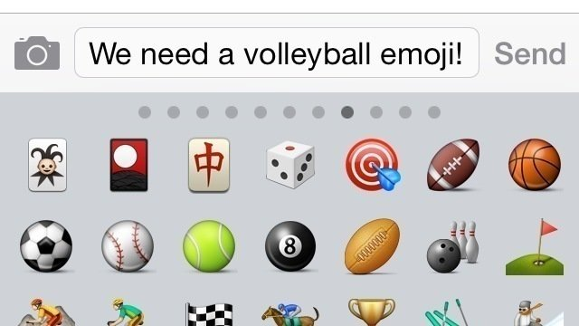 Petition · Add a Volleyball Emoji to the Standard Emoji
