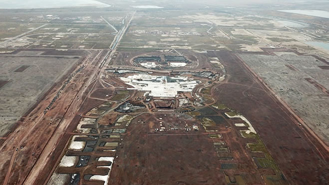 Petici n cancelar el proyecto del nuevo aeropuerto for Puerta 6 aeropuerto ciudad mexico