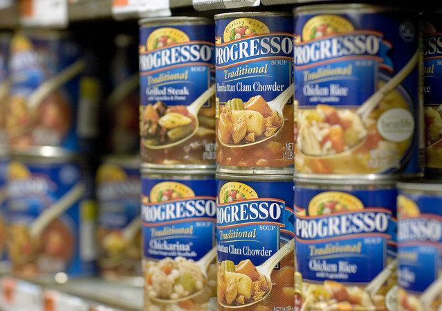 Progresso soup food poisoning