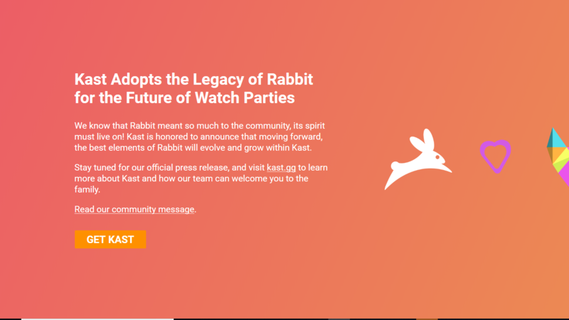 Petition Remove Kast Service And Bring Back Rabbit
