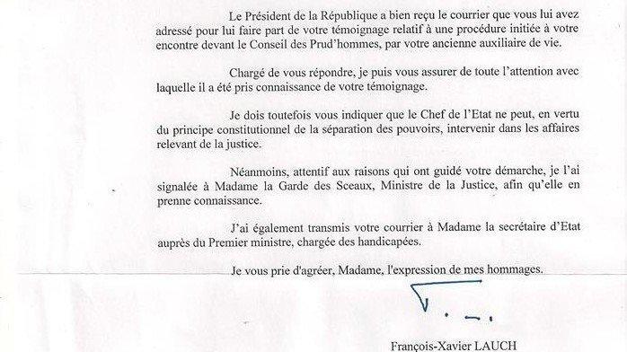 Petition Update Réponse De Monsieur Le Président De La