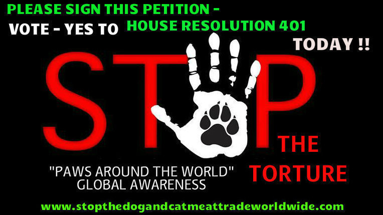 Topic · Stop dog cat meat trade · Change org