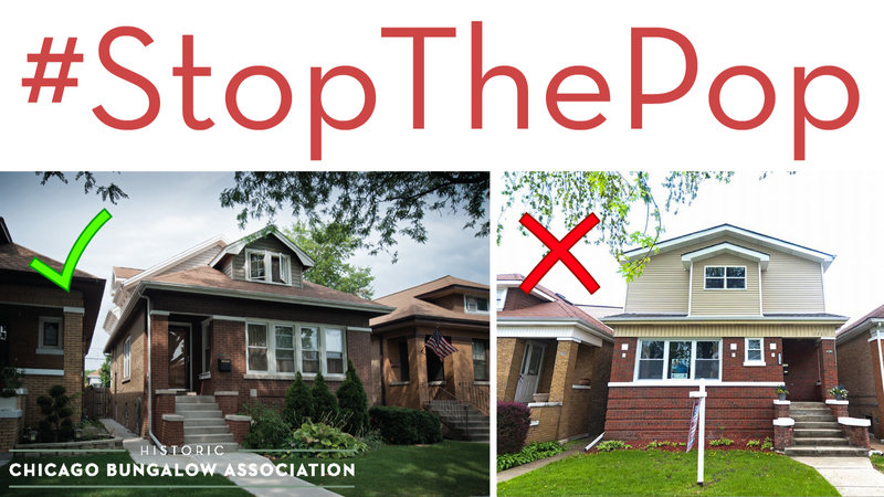 Petition Chicago Bungalow Association Stop Destroying Bungalows Support Sensible Second Story Additions StopThePop Changeorg