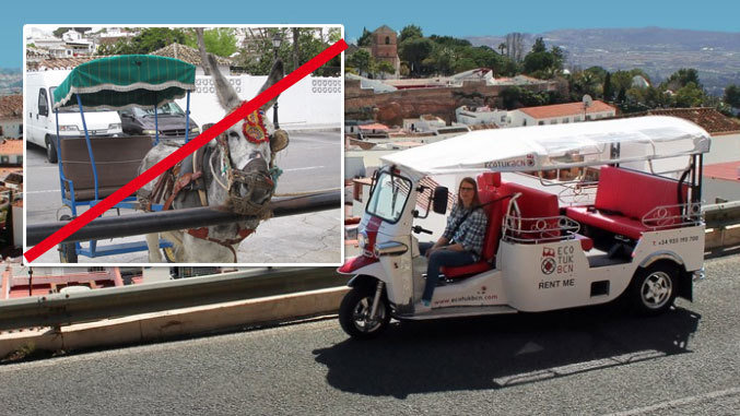 Petition update no m s rutas con burritos en mijas for No mas 900 oficina directa