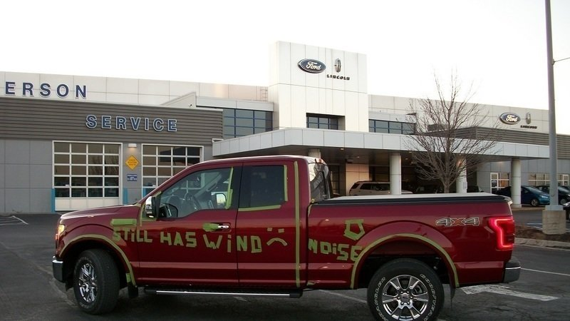 Petition · Ford Motor Co : Ford needs to fix the wind noise issue in