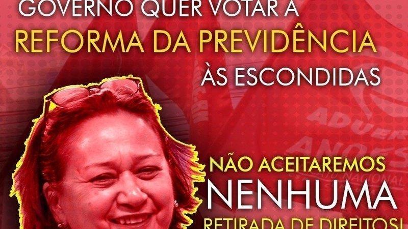 Abaixo-assinado · Não aceitamos que o Governo do Estado do RN vote ...