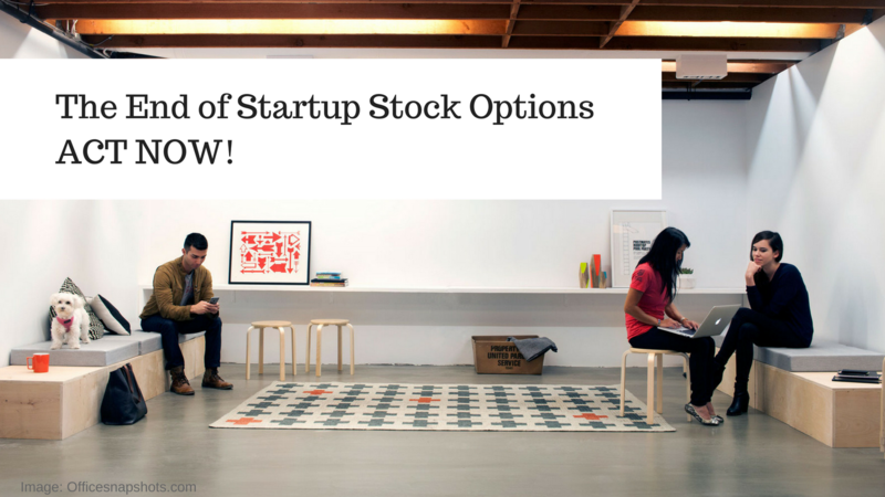Startup stock options tax