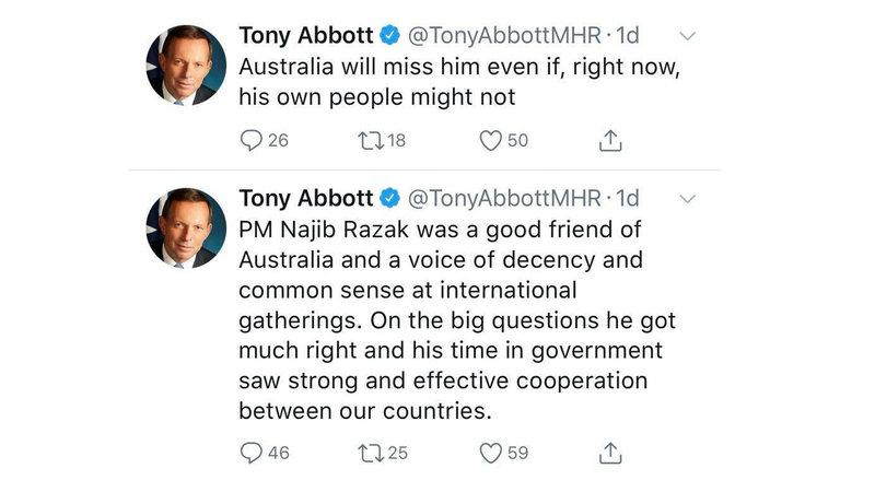 Petition · Denounce Australian MP Tony Abbott's support for former