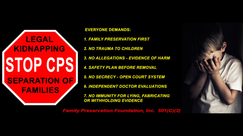 Petition · Stop Child Protection Services (CPS) From Legally