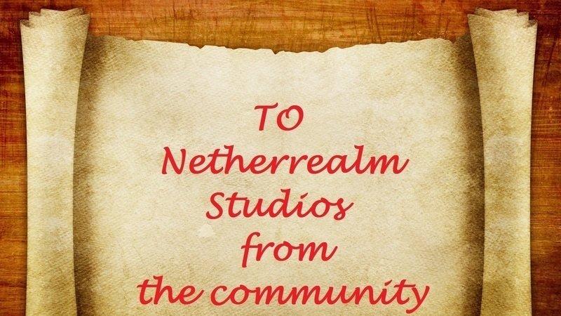 Petition · NetherRealm studios, warner bros  games: Please