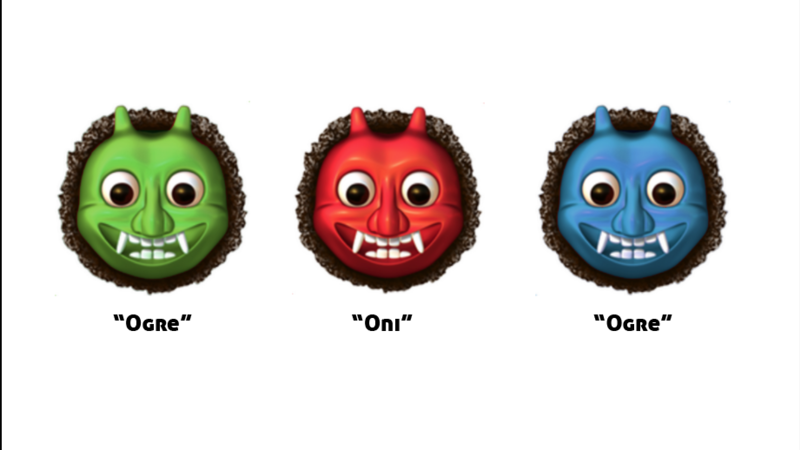 Petition · Create options of the ogre emoji to include Green