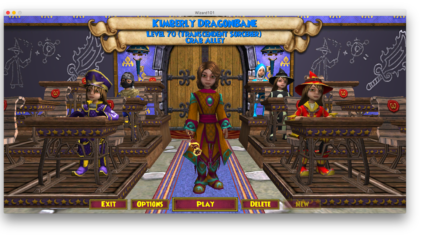 Topic · Wizard101 · Change org