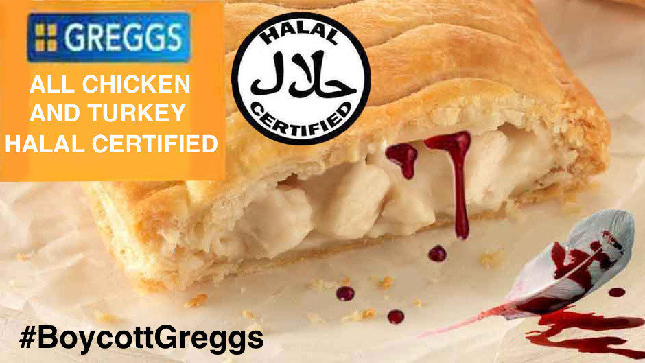 Petition We Demand That Greggs Stops Using Halal