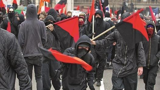 Image result for antifa violence usa
