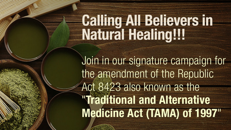 An Alternative Medicine Believers >> Petition Join In Our Signature Campaign For The Amendment Of The