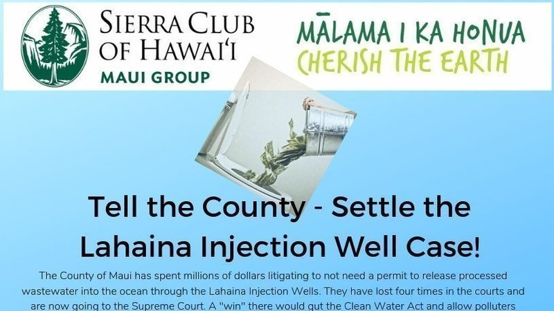 Petition update · Maui County's Lawyers are OUT OF CONTROL