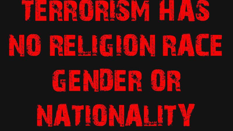 petition recognise that terrorism has no religion race gender
