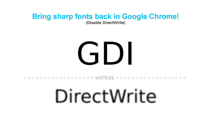 Petition · Google, Inc: Bring sharp fonts back in Google