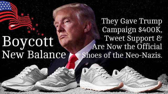 new balance donald trump twitter