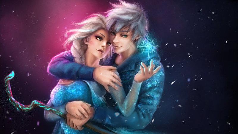 Elsa dating Jack Frost Futurama dating robotar