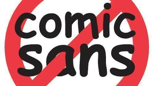 Petition · BAN COMIC SANS · Change org