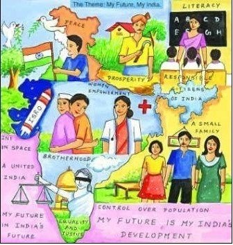 essay on my country india for kids