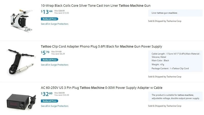 Petition · Mr Doug McMillon: Pull Tattoo equipment from Wall-mart ...