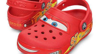 Make Lightning McQueen Crocs