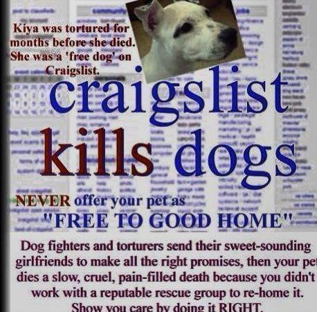 Petition · Craigslist: Stop Craigslist from allowing to sell or give