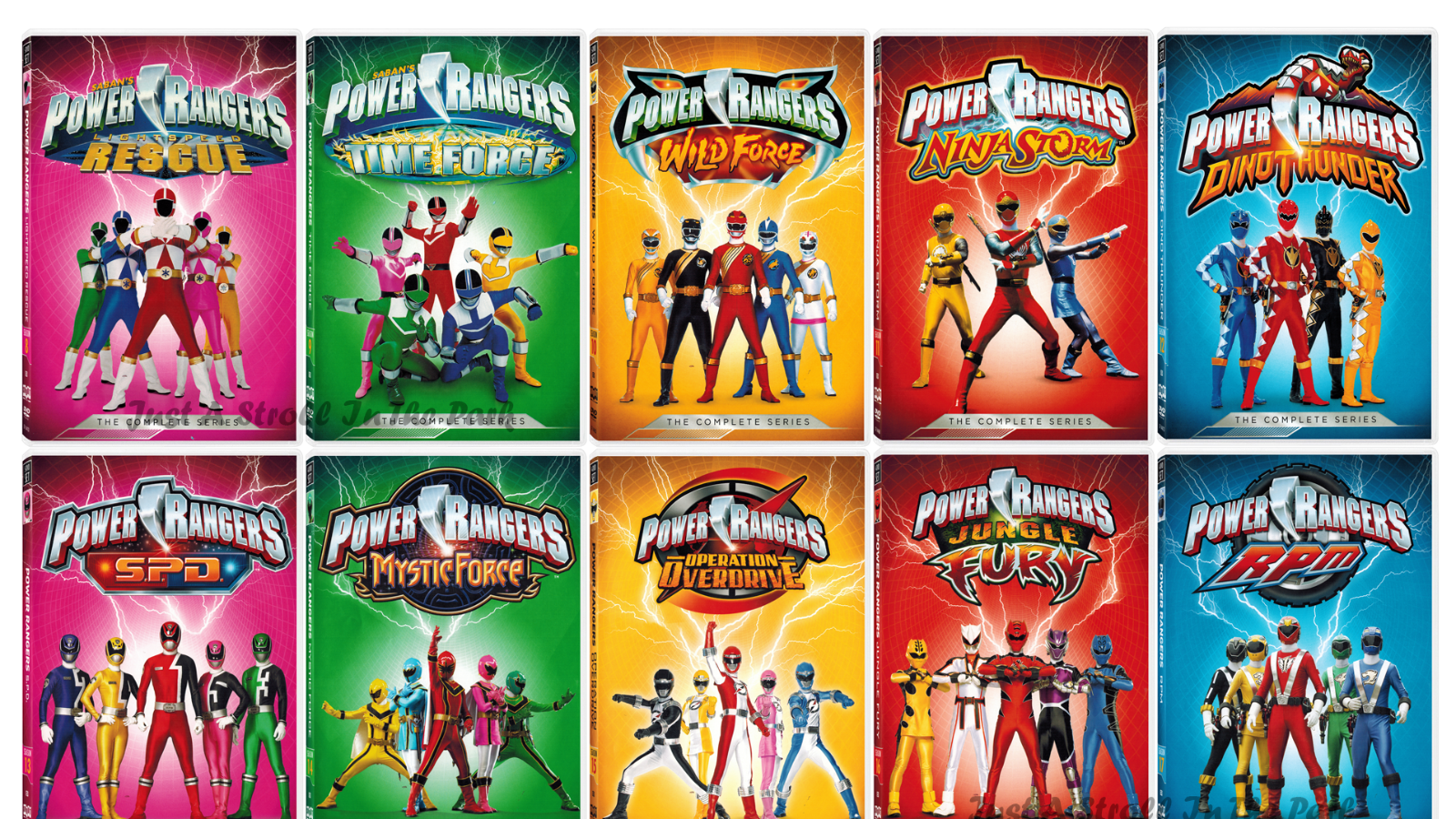 Topic Power Rangers Change Org