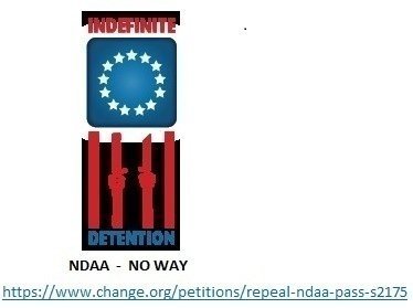 Petition · REPEAL NDAA ! PASS S2175 · Change.org