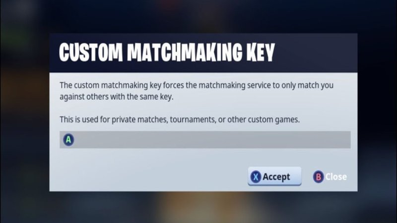When will I receive my custom matchmaking key as an Epic