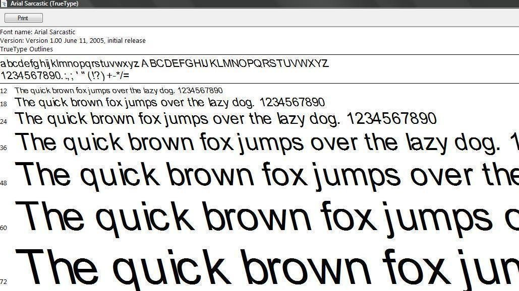 Accepted mla fonts