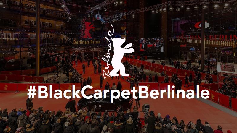 Blackcarpetberlinale Schwarzer Teppich Aus Solidarität Mit Metoo