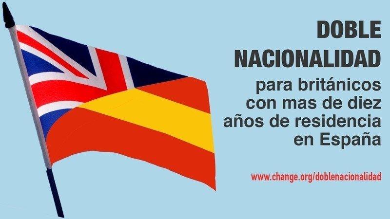 Petición · Gobierno de España: Doble nacionalidad para británicos ...