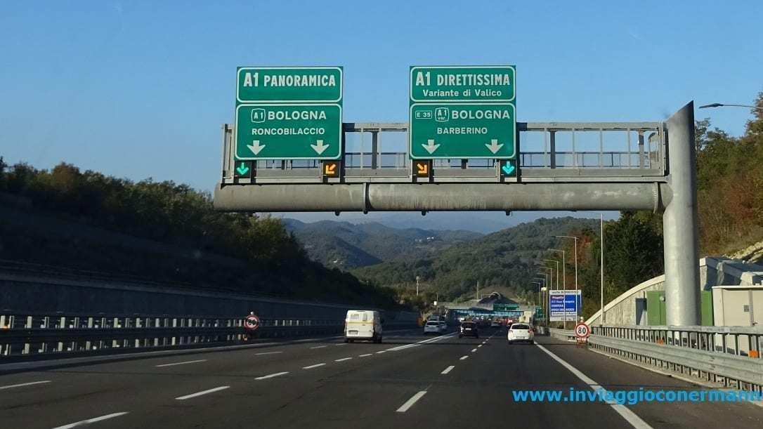 milano bologna autostrada tempo percorrenza - photo#21