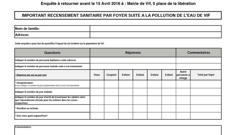 Petition Update Le Recensement Papier Arrive Change Org