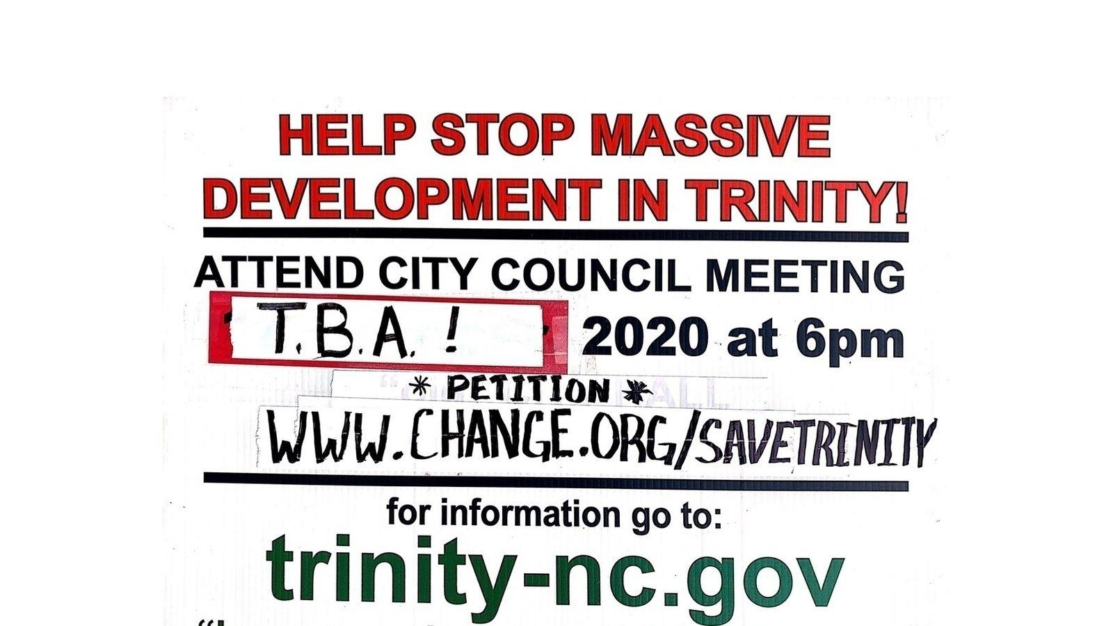 Petition Help Stop Massive Development In Trinity Change Org