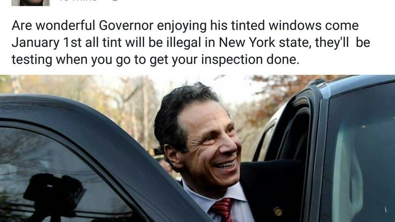 Make Window Tint Legal In New York State
