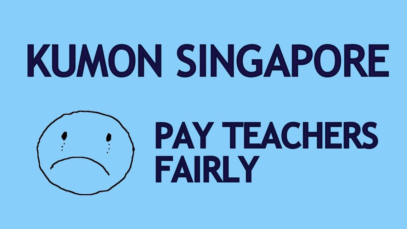 Petition · Allan Menagh: Raise the average wage of Kumon Assistant ...