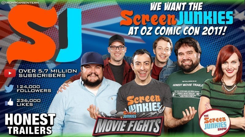 Petition · Oz Comic Con: Bring Screen Junkies to Oz Comic