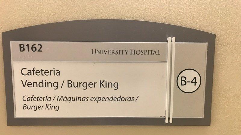 Petition · Remove Burger King from University Hospital in Newark NJ