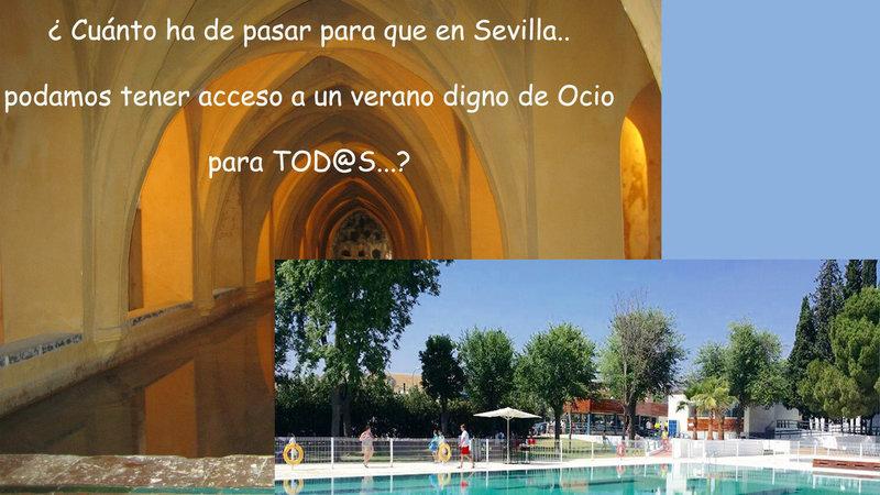 Peticion Alcalde De Sevilla Piscinas Publicas Al Aire Libre En