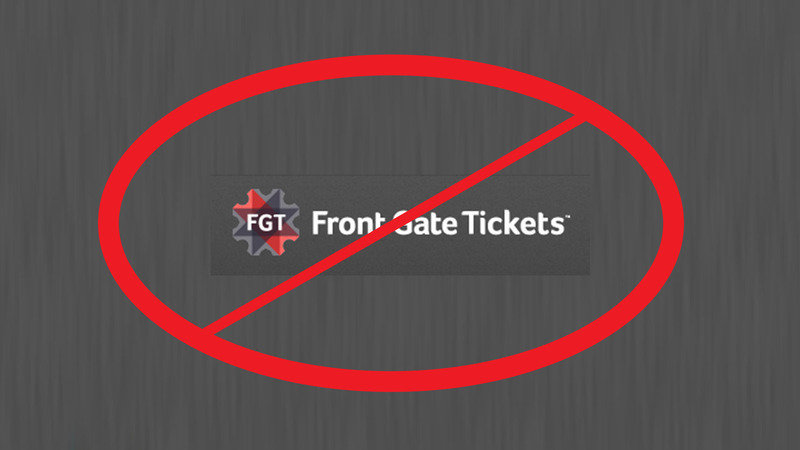 Cease All Business With Frontgate Tickets After Ef 2017